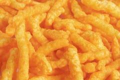 De Snacks van de Rookwolk van de kaas stock foto