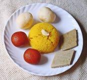De snacks van Diwali dusserah snoepjes royalty-vrije stock afbeelding