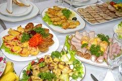 De snacks van het vlees Royalty-vrije Stock Foto
