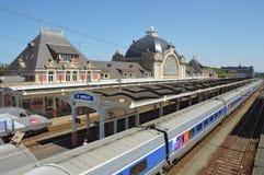 De SNCF-st-Brieuc post royalty-vrije stock foto