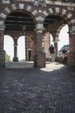 De Sneeker Waterpoort jest symbolem Fryzyjski miasteczko Sneek zdjęcie stock