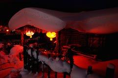 De sneeuw Stock Afbeeldingen