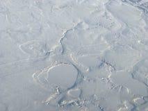 De sneeuw behandelde het noordpoolgebied Royalty-vrije Stock Afbeelding