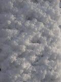 De sneeuw van de avondtextuur na sneeuwval Royalty-vrije Stock Foto's