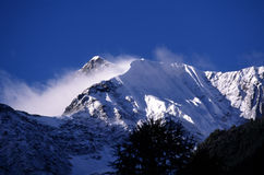 De sneeuw van de berg Royalty-vrije Stock Afbeelding