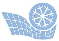 De sneeuw van de energie Stock Afbeeldingen