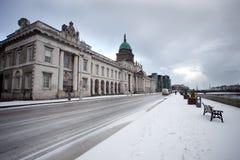 De sneeuw van Dublin royalty-vrije stock afbeelding