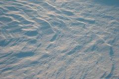 De sneeuw van Facture Stock Foto