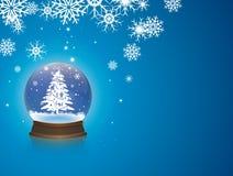De sneeuw van Kerstmis Royalty-vrije Stock Afbeelding