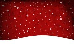 De sneeuw van Kerstmis. Klem-kunst stock fotografie