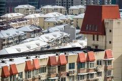 De sneeuw van Shanghai Royalty-vrije Stock Foto