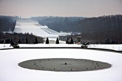 De Sneeuw van Versailles Stock Foto