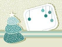 De sneeuwachtergrond van Kerstmis Royalty-vrije Stock Foto