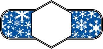 De sneeuwachtergrond van Kerstmis Stock Foto's