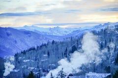 De sneeuwberg van Colorado Stock Afbeelding