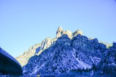 De sneeuwberg van Colorado Stock Fotografie