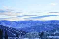 De sneeuwberg van Colorado Royalty-vrije Stock Foto's