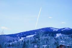 De sneeuwberg van Colorado Royalty-vrije Stock Foto