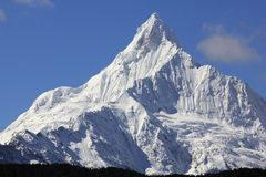 De sneeuwbergen van Meili royalty-vrije stock fotografie