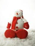 De sneeuwman 2011 van Kerstmis Stock Foto's