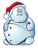 De sneeuwman van Kerstmis Stock Foto