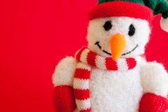 De sneeuwman van Kerstmis Stock Afbeelding