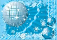 De sneeuwpartij van Kerstmis. royalty-vrije illustratie