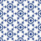 De sneeuwvlok van Background_seamless_ Stock Fotografie