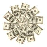 De Sneeuwvlok van de dollar Stock Afbeeldingen