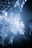 De sneeuwvlok van het document Stock Foto