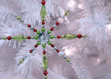 De sneeuwvlok van Kerstmis Stock Fotografie