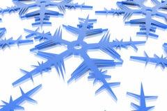 De sneeuwvlok van Kerstmis stock illustratie