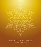 De sneeuwvlokeps10 van luxe Vrolijk Kerstmis vectordossier als achtergrond. stock illustratie