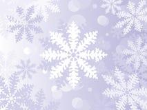 De Sneeuwvlokken van de winter stock illustratie