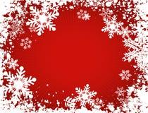 De sneeuwvlokken van Grunge Royalty-vrije Stock Afbeelding