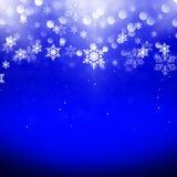 De sneeuwvlokken van Kerstmis Stock Afbeelding