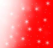 De sneeuwvlokken van Kerstmis Stock Foto
