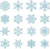 De sneeuwvlokken van Kerstmis Royalty-vrije Stock Foto