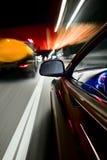 De snelheid van de nacht Stock Afbeeldingen