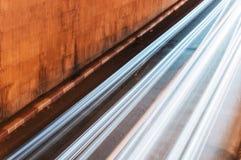 De snelheid van de tunneluitgang Stock Afbeeldingen