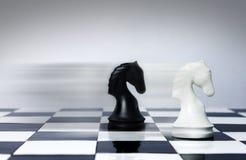 De snelheid van het schaak Stock Foto