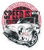 De snelheid is wat I-behoefte Royalty-vrije Stock Foto's