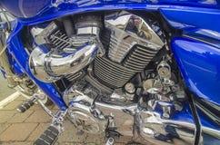 De snelheids Amerikaanse macht van de Harleybijl snel Royalty-vrije Stock Fotografie