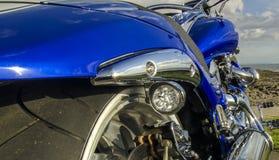 De snelheids Amerikaanse macht van de Harleybijl snel Royalty-vrije Stock Foto