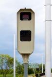 De snelheidscamera stock afbeelding