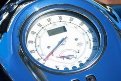 De snelheidsmeter van de motorfiets stock fotografie