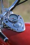 De snelheidsmeter van motorfietsen Royalty-vrije Stock Foto's