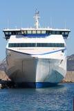 De snelheidsveerboot van Hight in Corsica Royalty-vrije Stock Foto
