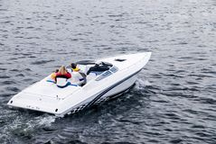 De snelle Boot van de Macht Royalty-vrije Stock Fotografie