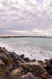 De snelle Pier van de Baai Royalty-vrije Stock Afbeeldingen